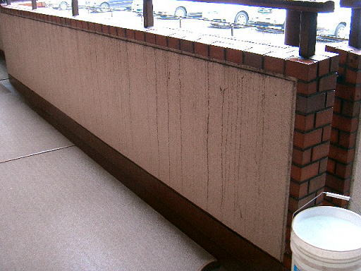 ビル外壁洗浄、マンション共有通路清掃3