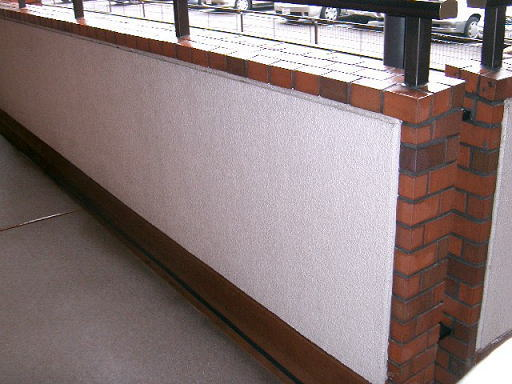 ビル外壁洗浄、マンション共有通路清掃4