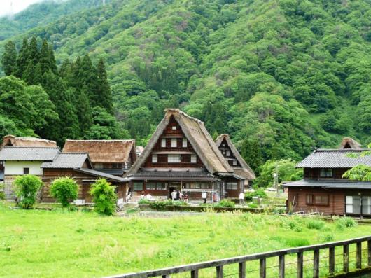 世界遺産 五箇山集落