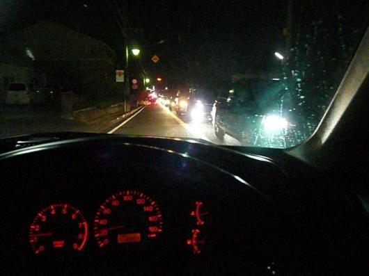 花火大会 往路渋滞