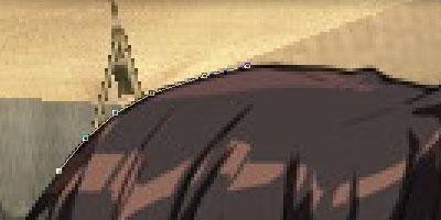 EX2:「線に沿ってパスで囲っていきますよ」