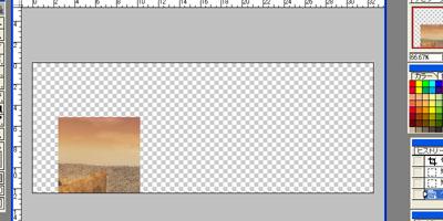 EX2:「空や単純な地形の背景ならこの方法で無問題」