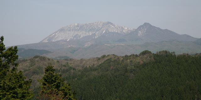 蒜山からの大山
