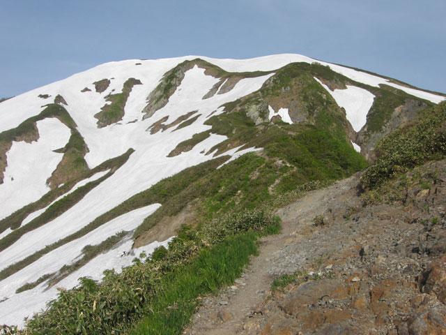 越後駒ヶ岳が見えますよ