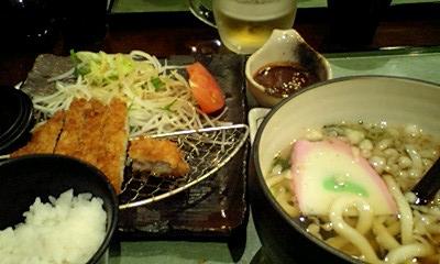 天川(バイト先) 味噌カツ定食