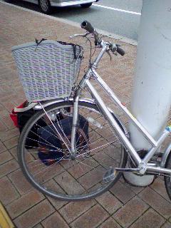 飛鳥の自転車