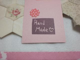 Hand Madeのハンコ1