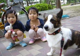 かわいい姉妹