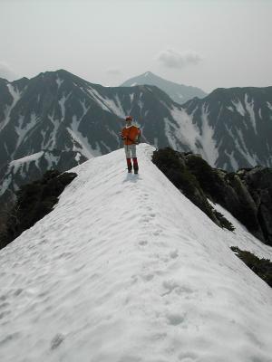 槍ヶ岳(東鎌尾根)・八ヶ岳(厳冬期 031