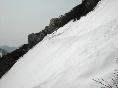 槍ヶ岳(東鎌尾根)・八ヶ岳(厳冬期 035