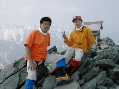 槍ヶ岳(東鎌尾根)・八ヶ岳(厳冬期 057