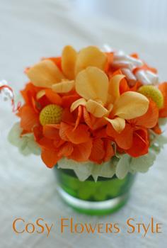 オレンジ×グリーン0529