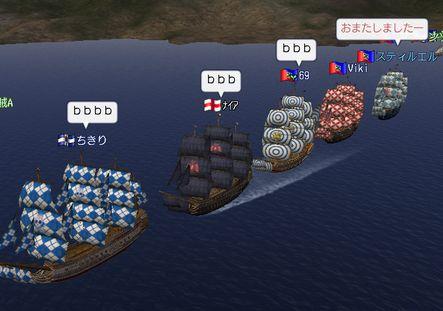 本日の艦隊