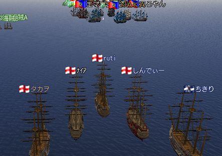 本日の艦隊2