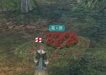 ニセモノ赤い花