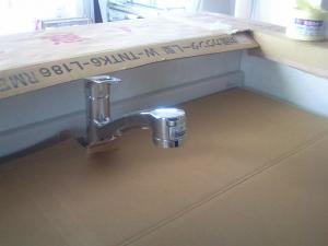 キッチン水洗
