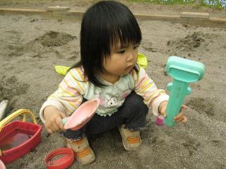 ひたすら砂あそび