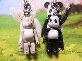BE@RBRICKジャイアントパンダ&ホッキョクグマ01