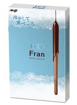 明治製菓、冷凍庫で冷やして食べる「Fran」を発売
