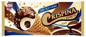 森永乳業、エスキモー「クリスピーナ 生チョコソース入り」を期間限定で発売