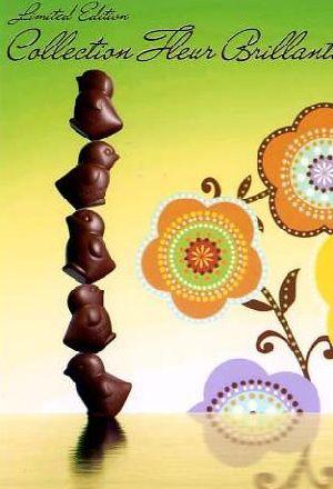 春限定、ヒヨコを型どったチョコレート ゴディバ