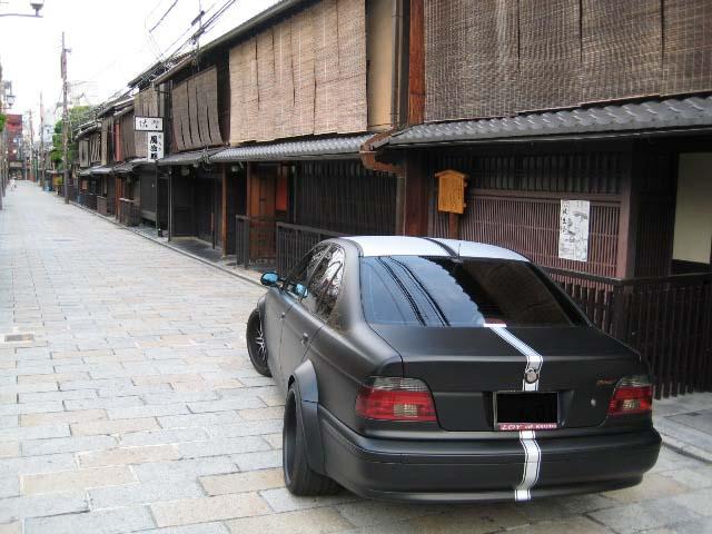 BMW ワイドボディー トランク整形 祇園撮影