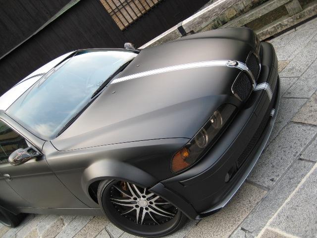BMW ワイドボディー 祇園撮影