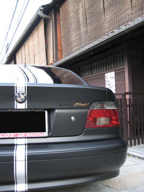 BMW ワイドボディー ピンストライプ 祇園撮影