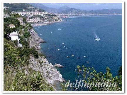 南イタリアの海