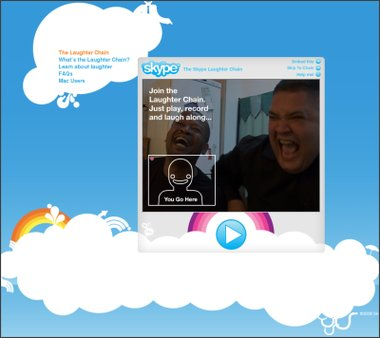 Skype Laughter Chain