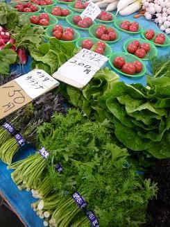 農協の野菜