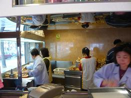 中華のサンドイッチ屋①