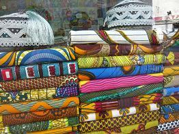 アフリカンな布