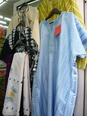 アフリカの洋服