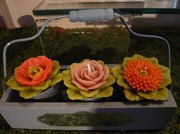 ロウソクお花