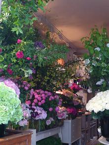 セッコの近くの花屋①