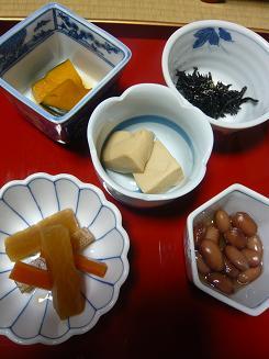 精進料理朝食①