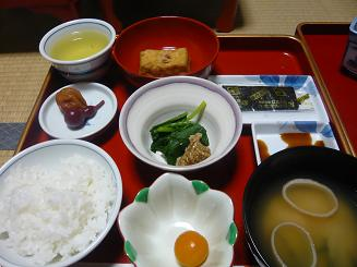 精進料理朝食②