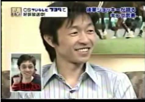 武豊騎手岩田騎手ドッキューンバッキューン画像