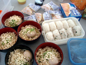 石垣島で煮卵☆