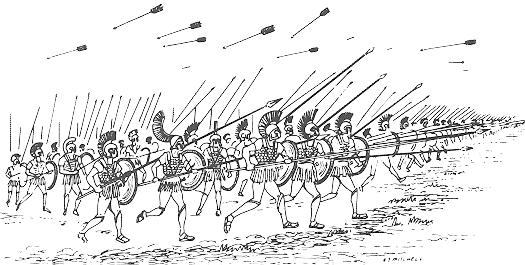 ファランクス戦闘