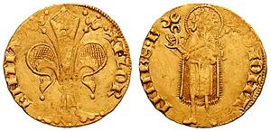 フィオリーノ金貨 1300年代