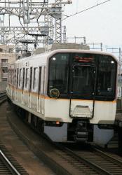 北田辺~河堀口間(2008.3.23)