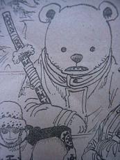 覇気に顔色一つ変えないクマ