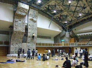日進市スポーツセンター クライミングウォール1