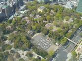 新宿中央公園・展望台から
