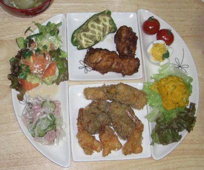 2008かず誕生日ディナー