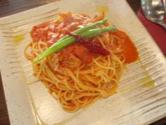 tomato base pasta