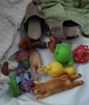 おもちゃの洗濯2