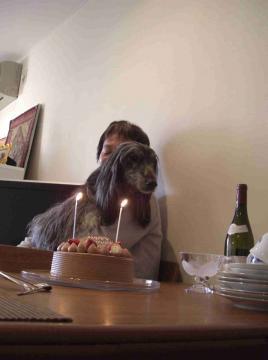 papa & ell condre birthday cake